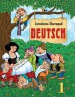 Обкладинка до підручника Німецька мова (Скоропад) 1 клас