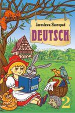 Обкладинка до підручника Німецька мова (Скоропад) 2 клас